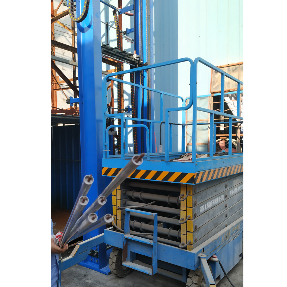 15 meters high filling machine