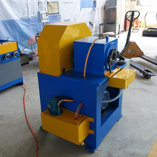 cartridge heater swaging machine