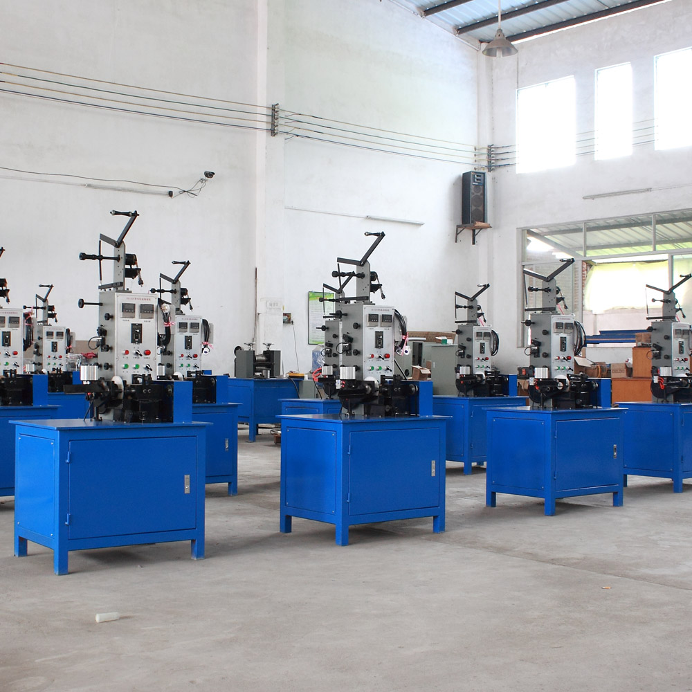 resistance wire winding machine workshop in Feihong